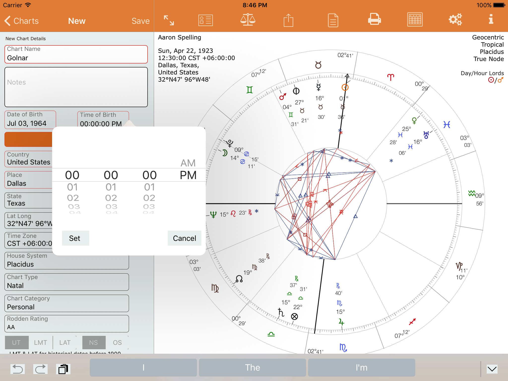 Your first natal chart astroconnexions new chart select noon nvjuhfo Choice Image