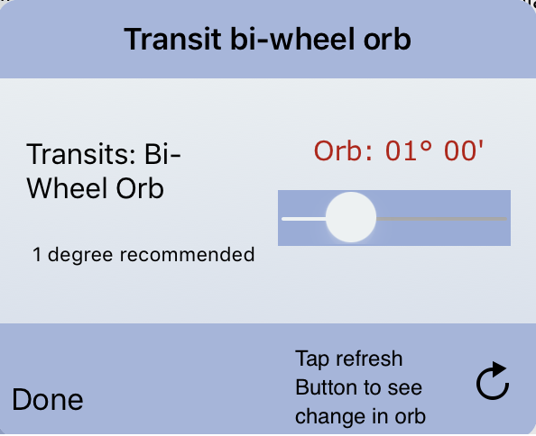 Transit bi-wheel Orb