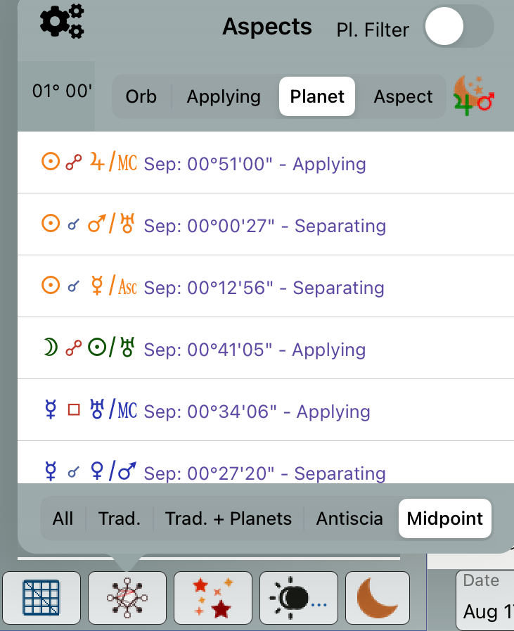 Midpoint Planet sort improved
