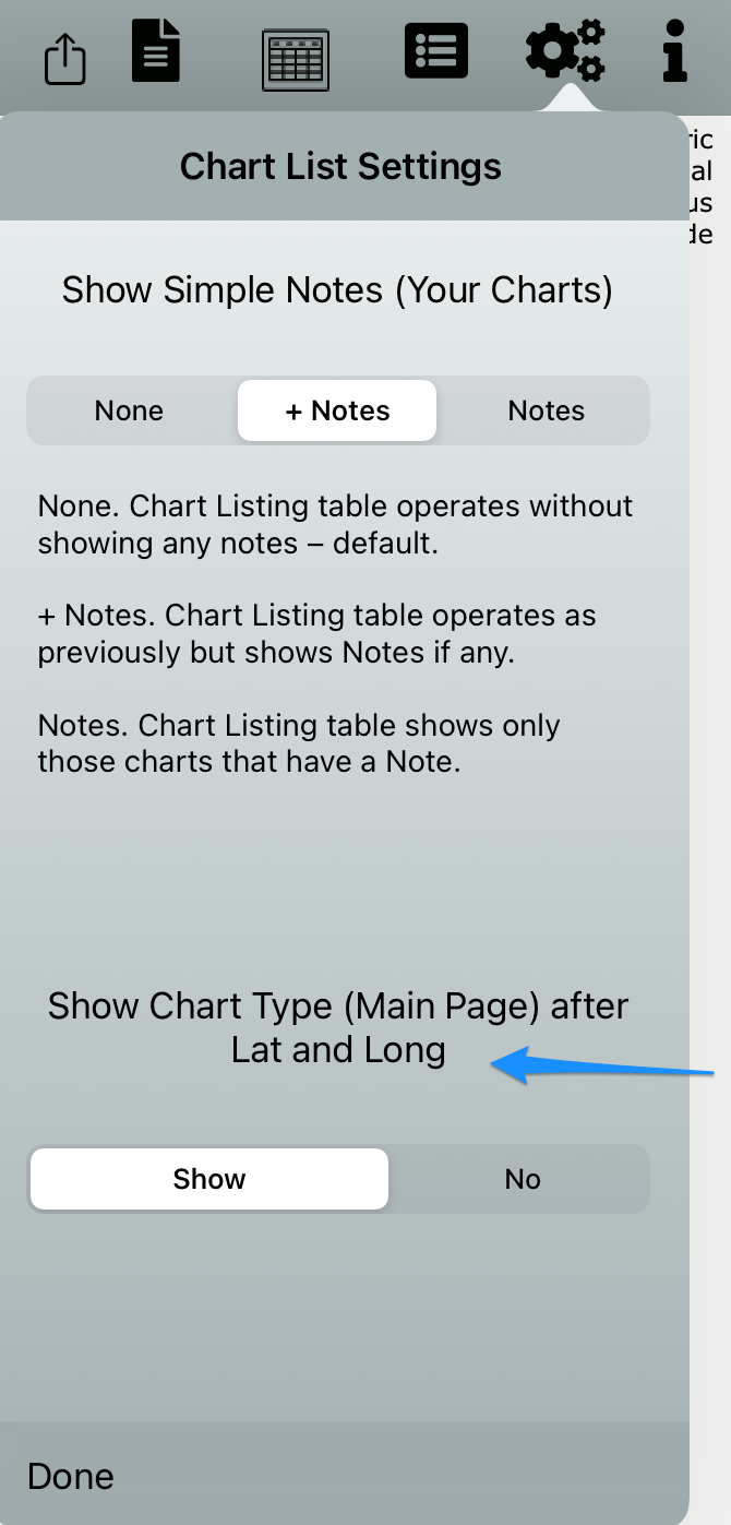 Show Base Chart Type